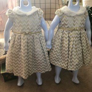Girl's formal fall dress